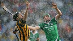 Driving rain tested the players skills to the limit and made for some spectacular images during the All-Ireland semi-final hurling clash of Limerick and Kilkenny at Croke Park Croke Park, Big Guns, Ireland, Rain, Gallery, Athlete, Coaching, Irish, Sports