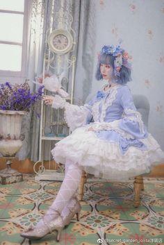 Rococo Fashion, Lolita Fashion, Harajuku Fashion, Kawaii Fashion, Gothic Lolita, Lolita Style, Lolita Cosplay, Japanese Street Fashion, Japan Fashion