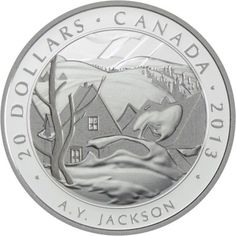 20 Dollar Silber Kanadische Kunst - Group of Seven: A.Y. Jackson PP
