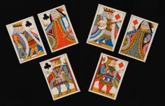 Antique Playing Cards by Tiffany and Company Designed by Charles E ...
