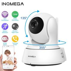 SECTEC Home Security wireless IP Camera Surveillance CCTV Network WiFi Cam Baby Monitor Night Vision Two Way Audio. Security Surveillance, Security Alarm, Surveillance System, Camera Surveillance, Mobile Security, Best Home Security, Security Cameras For Home, House Security, Sons
