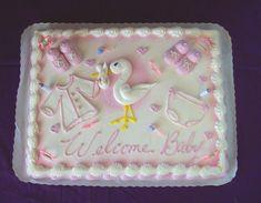 baby shower cake ideas girl | Baby Shower Cakes