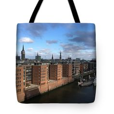 Hamburg - Choose your favorite tote bags from thousands of available designs. All tote bags ship within 48 hours and include a 30-day money-back guarantee. A breathtaking view of Hafen City from the observation platform of the Elphy- Philharmonic. Hamburg for home design