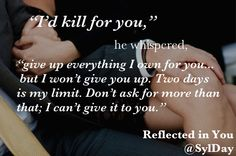 He'd suffered brutality and violation, just as I had. #ReflectedinYou @SylDay @BookishTemptations