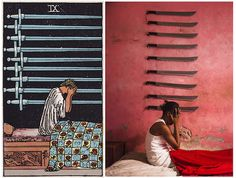 """Ghetto Tarot"" produced by Haitian artist collective Atis Rezistans and photographer Alice Smeets."