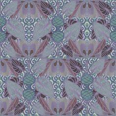Twilight In a Persian garden fabric by su_g on Spoonflower - custom fabric  © Su Schaefer 2012