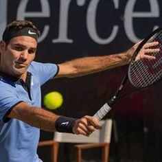ATP Mercedes Cup round of sixteen men's singles - Roger Federer vs Tommy Haas