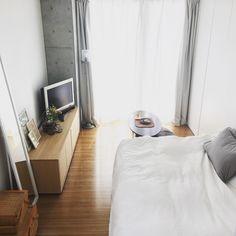 tomokoさんの、ワンルーム 6畳,ワンルーム,すっきり暮らす,すっきりとした暮らし,シンプルライフ,無印良品,部屋全体,のお部屋写真