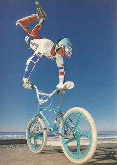 Ron Wilkerson - Bmx Bikes - Ideas of Bmx Bikes - Ron Wilkerson Haro Bikes, Haro Bmx, Vintage Bmx Bikes, Velo Vintage, Bmx Wheels, Gt Bmx, Bmx Cruiser, Bmx Flatland, Bmx Parts