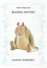 ALAN DART'S BEATRIX POTTER LICENCED CHARACTER PATTERN – SAMUEL WHISKERS