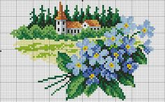 Discussion on LiveInternet - Russian Service Online Diaries Cross Stitch Numbers, Cross Stitch Love, Cross Stitch Pictures, Cross Stitch Cards, Cross Stitch Flowers, Cross Stitch Designs, Cross Stitching, Cross Stitch Embroidery, Cross Stitch Patterns