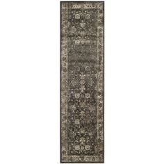 Safavieh Vintage Premium Collection VTG117-330 Transitional Oriental Soft Anthracite Distressed Silky Viscose Runner (2'2' x 12') >>> You can find out more details at the link of the image. (This is an affiliate link and I receive a commission for the sales)