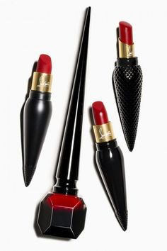 Christian Louboutin lipstick  Visit www.TheLAFashion.com for more Fashion insights and tips.