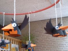 Vbs Crafts, Bird Crafts, Diy And Crafts, Crafts For Kids, Arts And Crafts, Paper Crafts, Deco Kids, Paper Toys, Paper Decorations
