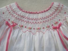 194 best Smocking images on Pinterest | Heirloom sewing, Smocked dresses and Smocking plates