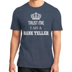 Bank teller District T-Shirt (on man)