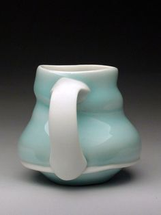 Mike Jabbur Pottery at MudFire Gallery in Atlanta, Decatur, GA #teacuphandles