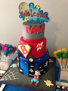 baby superhero invitations - Google Search