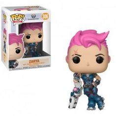 This Overwatch Pop! Vinyl Figure features Zarya as an adorable stylized figure. Standing about 3 tall, this Overwatch Zarya Pop! Vinyl Figure is packaged in a window display box. For Ages 4 & Up! Funko Pop Figures, Pop Vinyl Figures, Overwatch Pop Vinyl, Overwatch Pop Figures, Overwatch Figurine, Geeks, Starwars, Darth Vader, Shopping