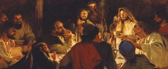 Touching moment in the Life of Christ with his apostles by the Church of Jesus Christ of Latter-day Saints (The Mormons)
