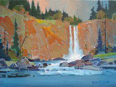 Robert Genn, 'Chilcotin Falls' at Mayberry Fine Art