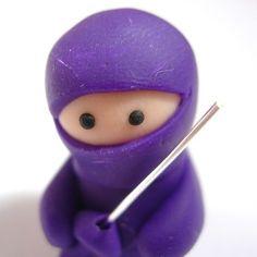Little Purple Ninja With Sword £6.50