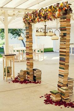 Best Decoration Ideas for Your Outdoor Wedding - Wewer Fashion Diy Wedding, Dream Wedding, Wedding Blog, Wedding Ideas, Booth Decor, Book Crafts, Event Decor, Photo Booth, Party Themes