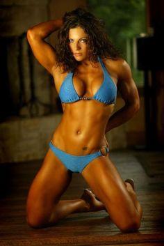 #IFBB Fitness Pro Trish Warren is married to IFBB Pro Bodybuilder Branch Warren http://hubpages.com/sports/More-IFBB-Female-Fitness-Competitors