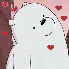 Bear Cartoon, Cartoon Icons, Cartoon Memes, Cartoons, Bear Wallpaper, Wallpaper Iphone Cute, Disney Wallpaper, Ice Bear We Bare Bears, We Bear