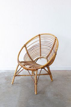 Rattan Bucket Chair