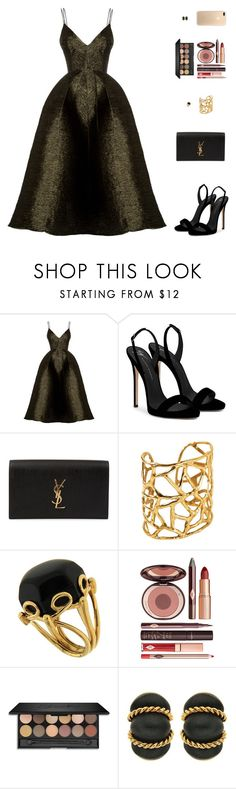 """Sin título #4856"" by mdmsb ❤ liked on Polyvore featuring Alex Perry, Giuseppe Zanotti, Yves Saint Laurent, Valentin Magro and Charlotte Tilbury"