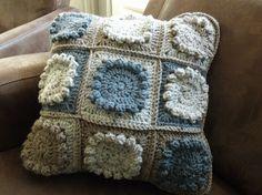 Gehaakt kussen van Tweed!