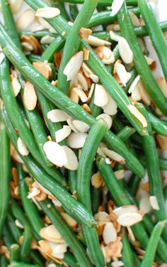 Green Beans with Brown Butter and Toasted Almonds is a nice twist on ...