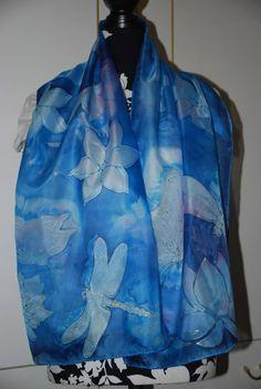 hand panting silk  scarves