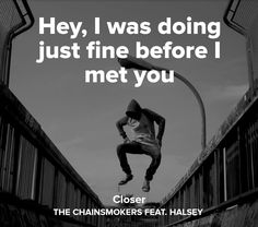 Closer // The Chainsmokers ft. Halsey