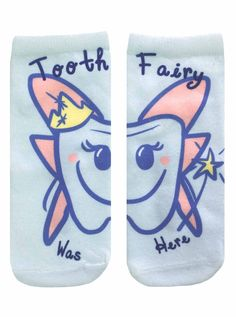 Tooth Fairy Ankle Socks
