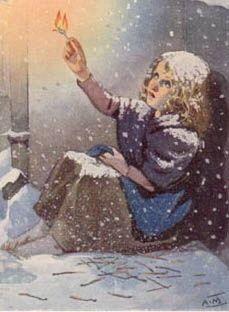 Intertekstualitet: 'Den lille pige med svovlstikkerne' af H.C. Andersen (1845)