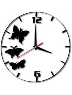 Kreativní hodiny na zeď - SAX Kód:  X0009-Hodiny na stenu motýle Stav:  Nový produkt  Dostupnost:  Skladem  Přišel čas na změnu! Dekorační hodinky oživí každý interiér, zvýrazní šarm a styl Vašeho prostoru. Zůtulní realít s novými hodinami. Nástěnné hodiny z plexiskla jsou nádhernou dekorací Vašeho interiéru.
