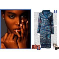 A fashion look from October 2014 featuring Stella Jean dresses, Christian Louboutin pumps and Forever New earrings. Browse and shop related looks. African Clothes, African Print Dresses, African Prints, African Fabric, African Inspired Fashion, African Fashion, Fashion Prints, Women's Fashion, Fashion Outfits