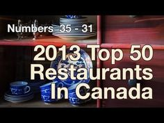 Top 50 Restaurants in Canada... we knew two of our tour faves would make it!  Yay Morris East and Chives!