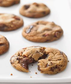 Chocolate Chunk and Almond Cookies
