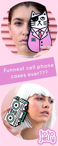 OMG I'm dying! So So Jelly has the cutest 3D phone cases ever! Their 3D silicon designs are poppy & protective & perfect for fashion forward ladies who don't take stuffs too srsly. Cases available for iPhone 6/s and 7. Available now on sosojelly.com. Get some bbz.