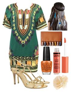 """""""Summer look"""" by wwwellie ❤ liked on Polyvore featuring beauty, OPI, Nicole Miller, Rebecca Minkoff and Accessorize"""