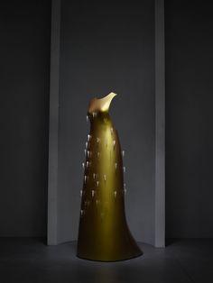 "Hussein Chalayan (British, born Cyprus, 1970). ""Kaikoku"" floating dress, autumn/winter 2011–12. Courtesy of Swarovski   Photo © Nicholas Alan Cope. #ManusxMachina #CostumeInstitute"