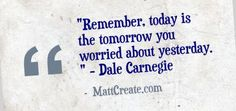 Quote of the Day  ★ Like this?  Sharing is caring!★  #QuoteOfTheDay #Quote #qotd  #MCqotd  <— Click for my previous quotes of the day.  #DaleCarnegie #Success #Happiness #Life