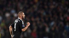 Real Madrid C.F Benzema.