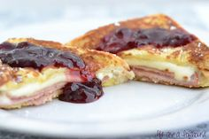 Deluxe French Toast Sandwiches - Life In The Lofthouse- like a Monte Cristo