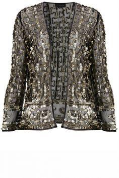 Kate Moss For Topshop: Sequin Blazer