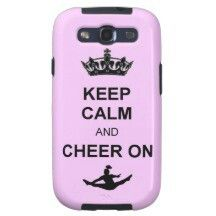 Cheerleading phone case for galaxy s3