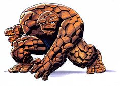 The Thing by Bruce Timm